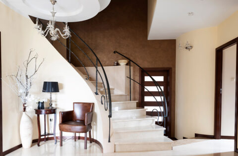 stairs marble design in india