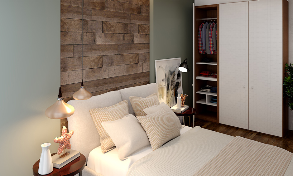 Mixture of texture as interior design trends involving rustic/natural with neutral hues