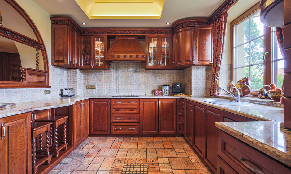 Best traditional south indian kitchen designs