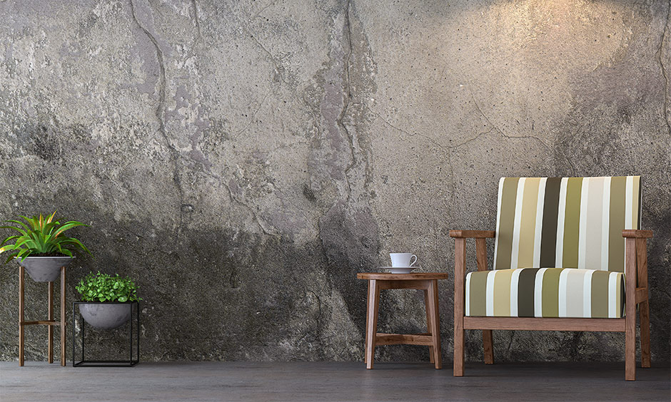 Get creative with how to fix large cracks in walls and use some imaginative skills and paint your wall cracks