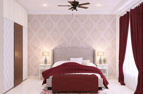 Colour combination for bedroom according to vastu