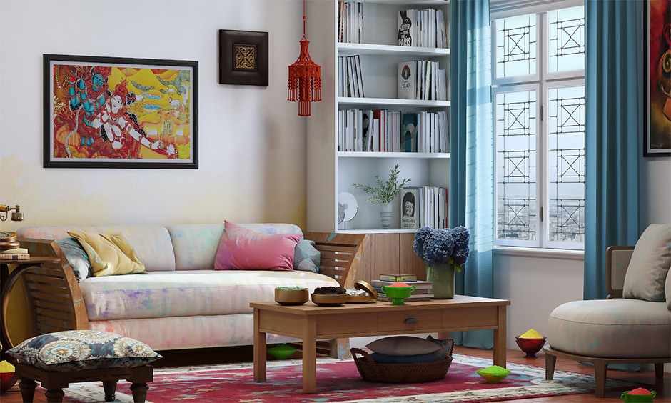 Check out how to remove holi colours from furniture