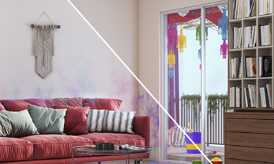 how to clean your home after holi celebration