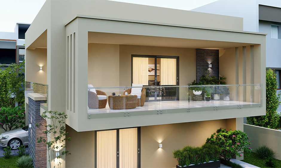 How to choose a glass grill for balcony