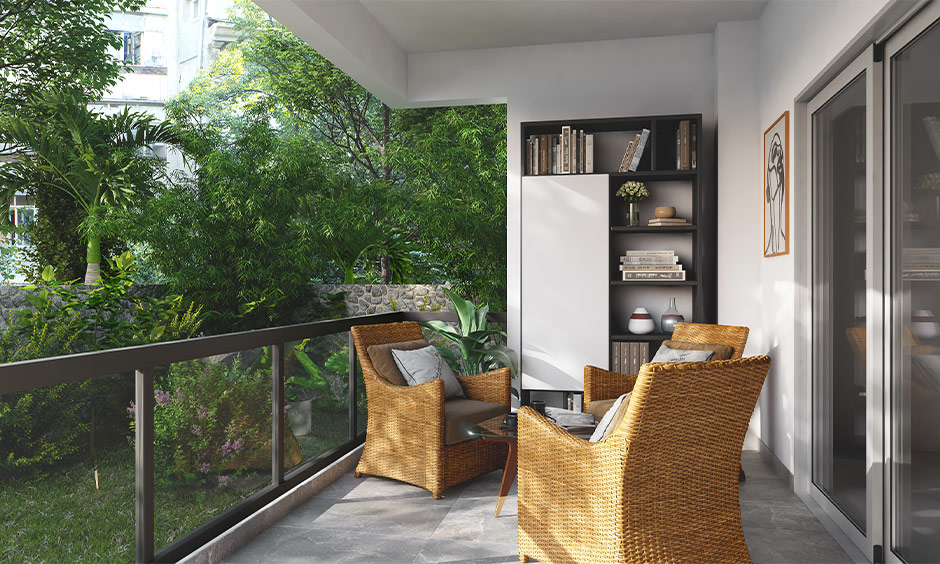 How to choose ground floor balcony grill and layout