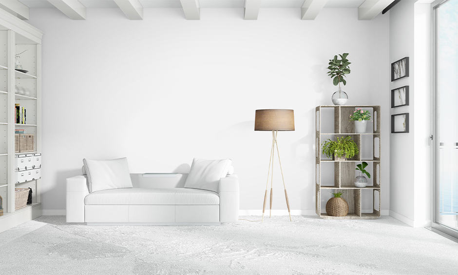 Indoor plant decor ideas for your living room to placing indoor plants on a shelf