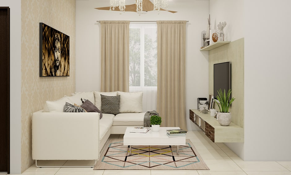 Indoor plants for small living room with a small potted plant on your coffee table
