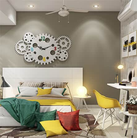 Best interior designers for 3BHK luxury flats at reasonable price.