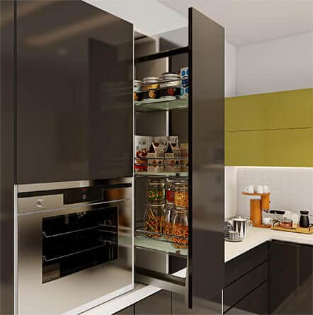 Top modular kitchen companies in Hyderabad for best kitchen interior designs.