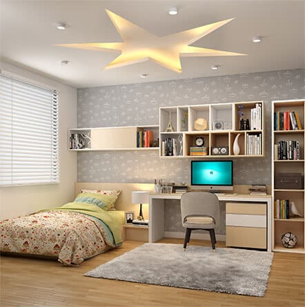 Interior cost for 2BHK flats in Hyderabad from residential interior designers.