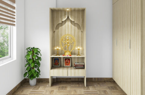 pooja room cupboard design ideas for your home