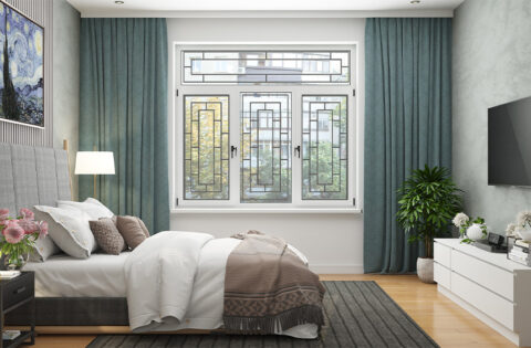 Modern window grill design for your home