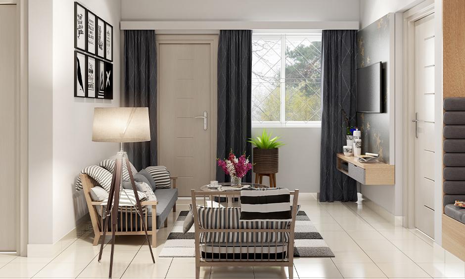 Most popular white floor tiles for living room