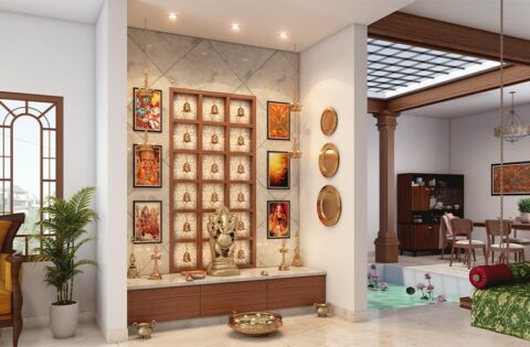 Traditional pooja room designs for your home