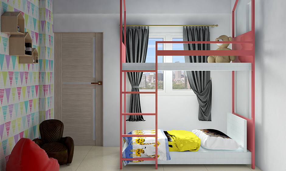 Save space with cheap bunk beds for boys with space-saving benefits in modern homes