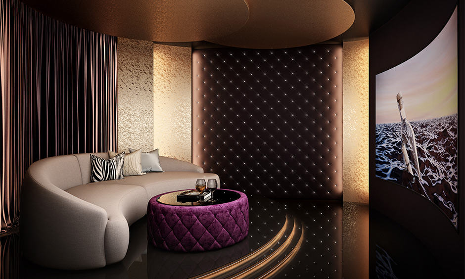 Beautiful home theatre ceiling designs for you to look up to