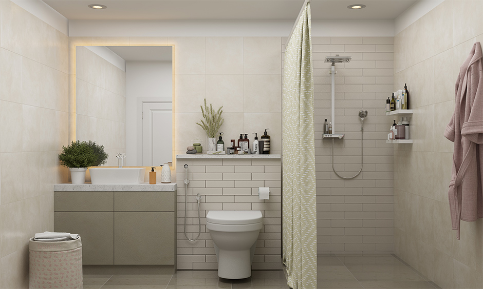 A bathroom with no ventilation and natural lighting brings a dull look are the worst interior design mistakes.