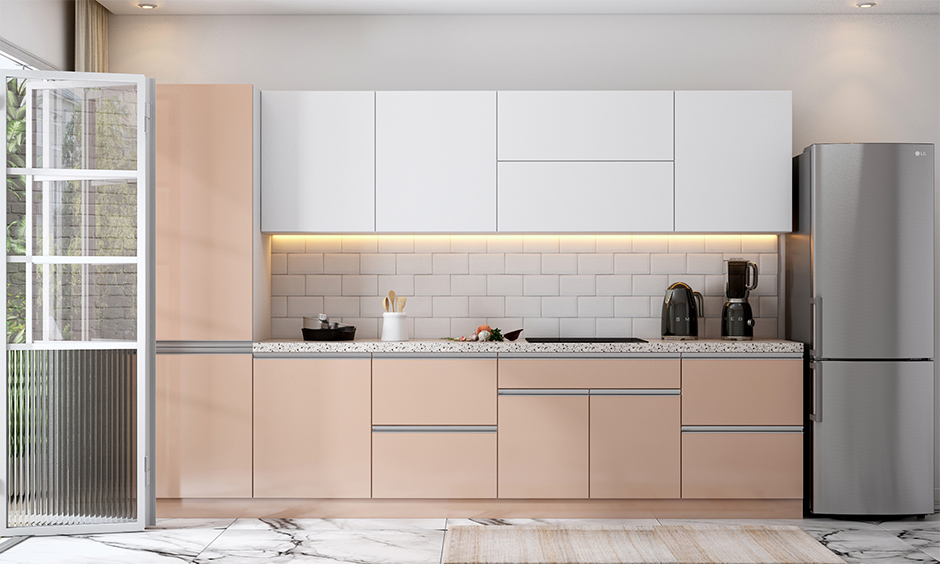 Kitchen interior mistakes avoided by using sleek and minimalistic storage options for maximum productivity.