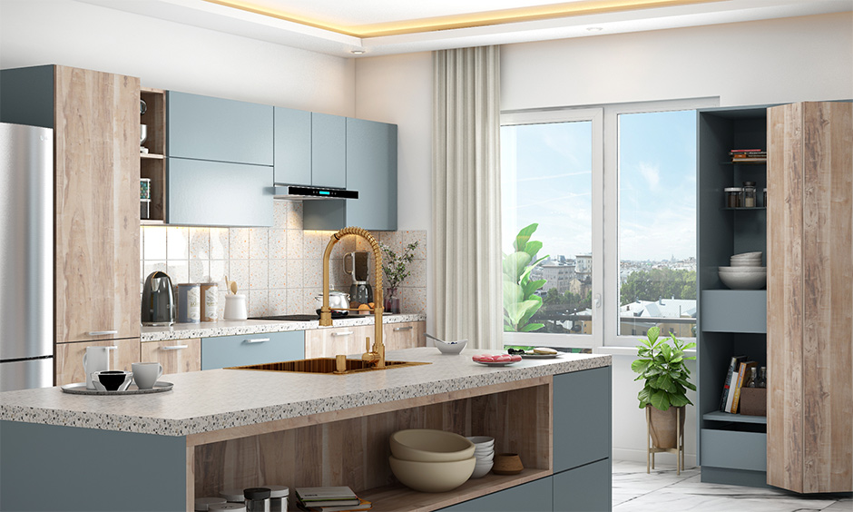Kitchen mistakes in interior design to avoid improper ventilation or less natural light makes feel uncomfortable.