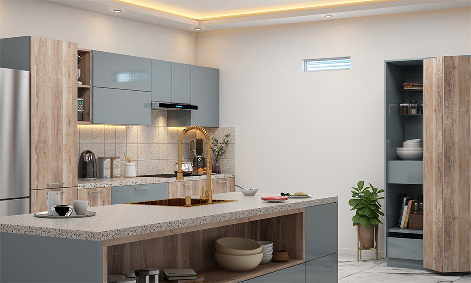 Kitchen mistakes in interior design with no proper ventilation or natural light makes the space feel uncomfortable.