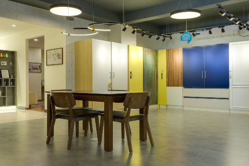Wardrobe design for design cafe experience center design cafe bangalore