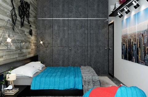 corner wardrobe ideas for small bedroom