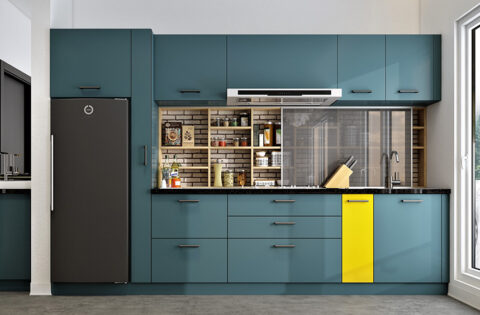 Stunning kitchen cabinets colors and styles designs for your home