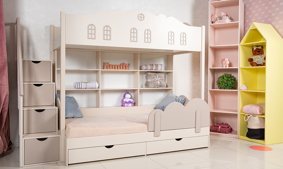 Bunk beds for girls which are just more than space saving pieces of furniture