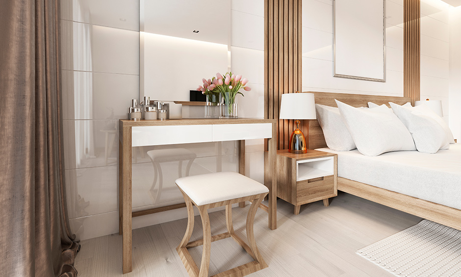 Modern dressing table designs for small bedroom