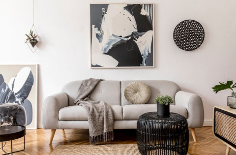 Living room scandinavian interior design ideas for your home