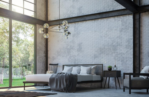 Industrial interior design for your home