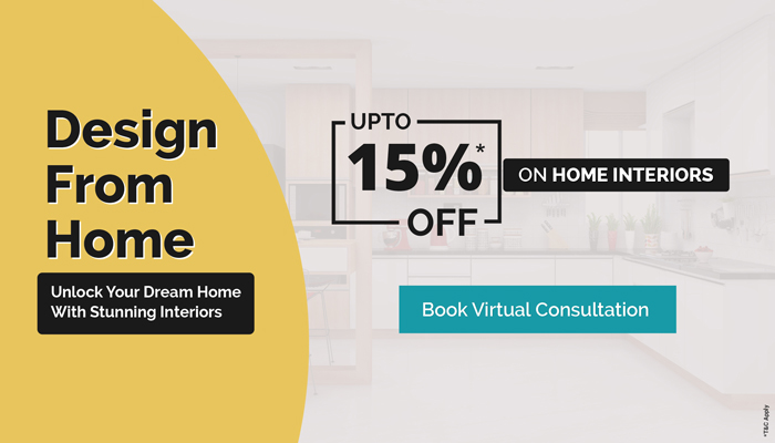 Home Interiors Offer from Design Cafe.