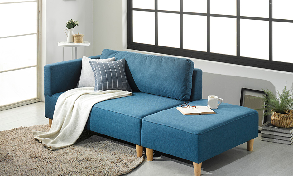 Space saving sofa bed as multipurpose sofa bed for small spaces