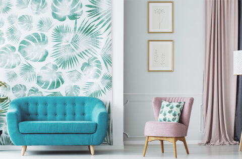 Wallpaper vs paint ideas for your home