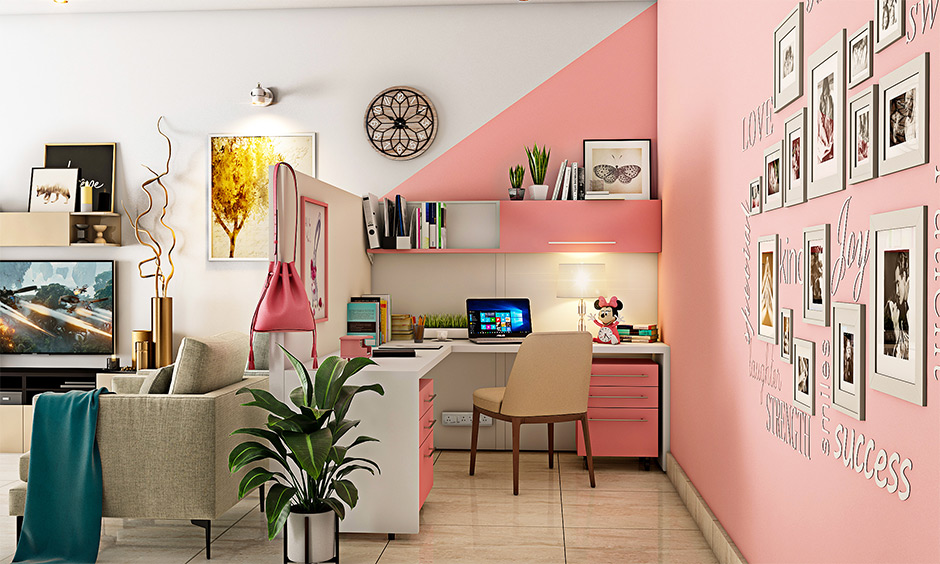 Stunning girls study room design ideas for your home