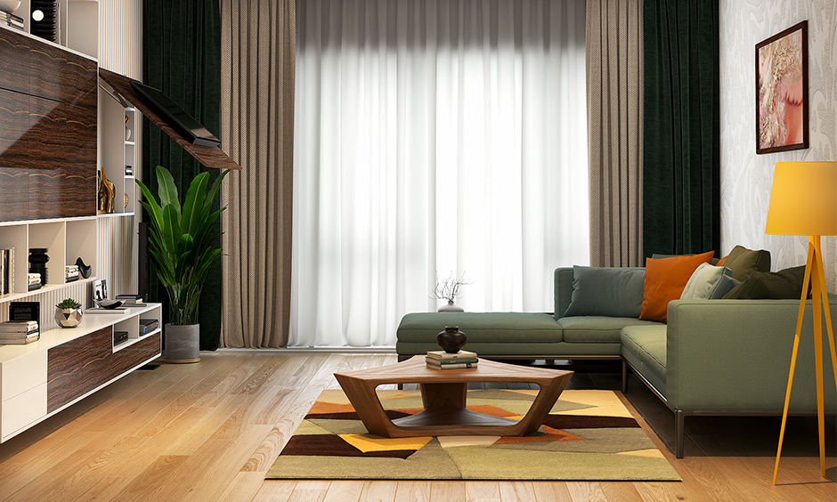 Wooden floor tiles for living room, textured wooden tile brings a natural elegance to space.