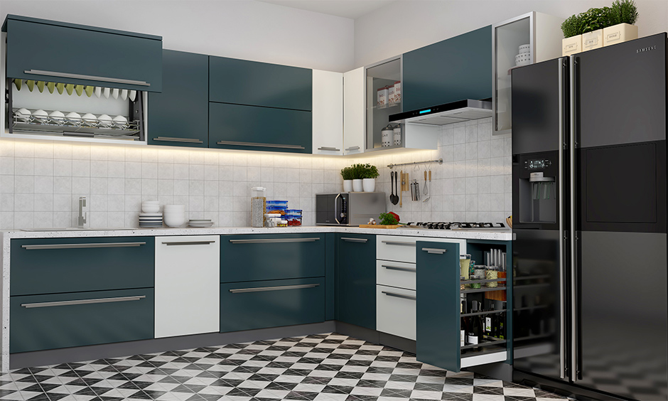 Elegant corner kitchen cabinet storage ideas for your home