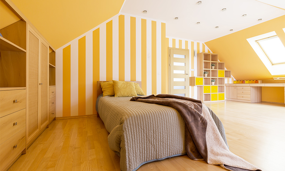 Aesthetic attic bedroom designs for your home
