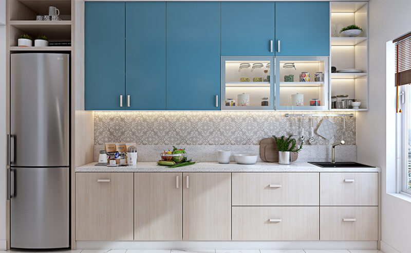 Straight kitchen design for your home