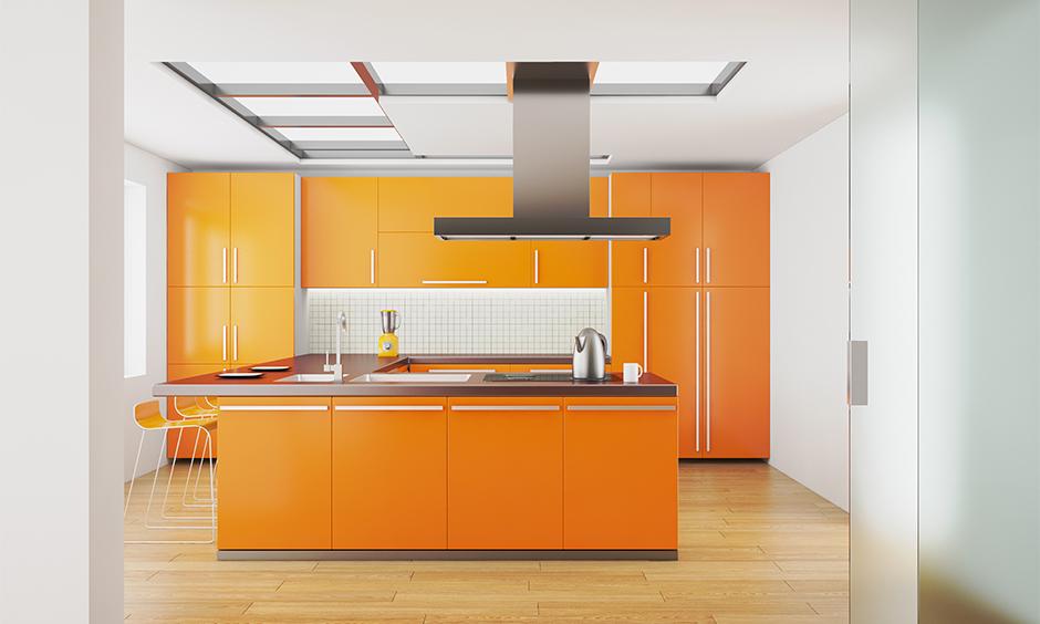 Orange kitchen design ideas which can add so much to your home