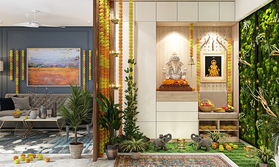 Eco-friendly and easy decoration ideas for Ganesha chaturthi at home