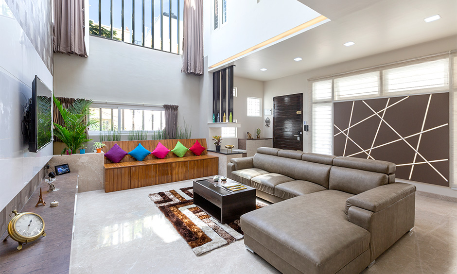 Futuristic interior design ideas in a jaw-droppingly gorgeous living room